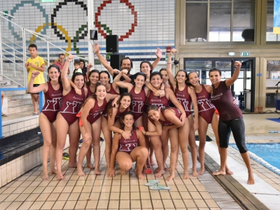 Le Aquariussine Trapani campionesse Under 15