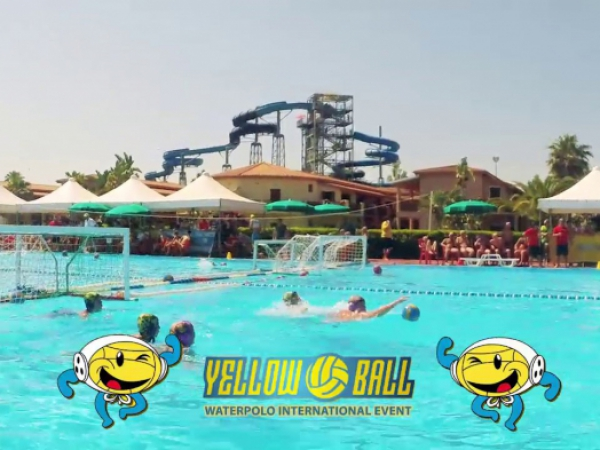 Lo Yellow Ball 2019 visto dal drone